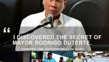 Inspirational guru Chinkee Tan on Mayor Rodrigo Duterte