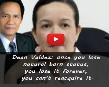 Grace Poe not a natural-born Filipino anymore