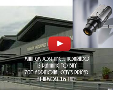 NAIA IS PLANNING TO BUY NEW CCTVS