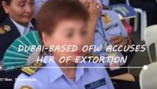 Vivian Caleon - accused of extortion by OFW