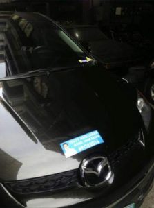 Ugly Grace Poe stickers pissed car owners