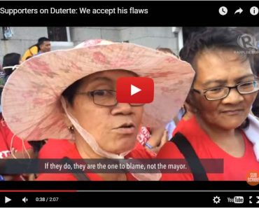 what women say about Dutertes womanizing