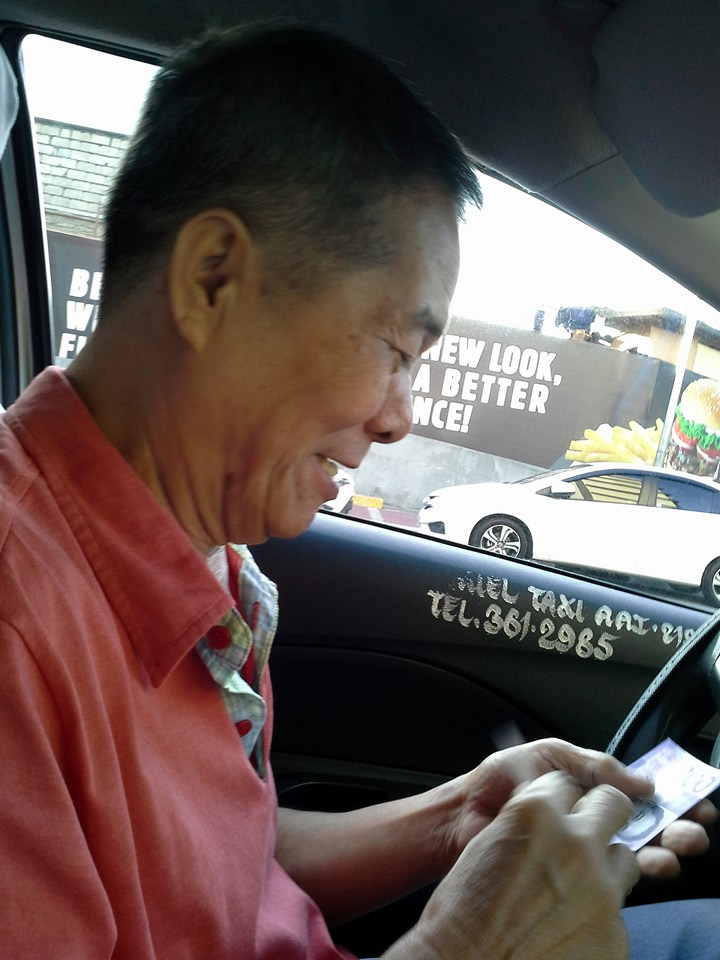 best taxi driver in the Philippines