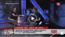 Leila de Lima on Duterte