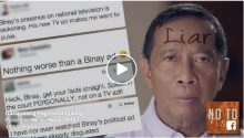 VP Binay a liar