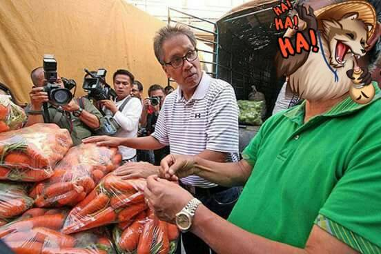 Mar Roxas as Carrot Man