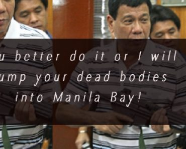 Duterte is threatened with assassination