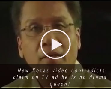 Mar Roxas contradicts claim he is no drama queen