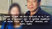 Netizen defends Duterte 1