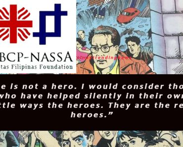 Caritas on Mar Roxas as hero