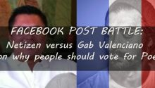 Gab Valencianos reply on challenge why people should vote fo Poe