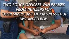 Good Samaritan cops in Imus Cavite