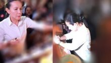 Grace Poe Lenten photo ops