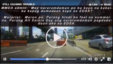 hilarious convo between motorist and MMDA