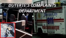 Dutertes complaints department