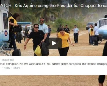 Kris Aquino and her controversial helicopter ride 1