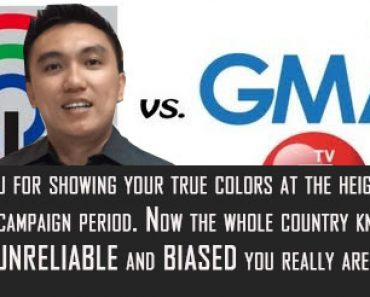 Open Letter to biased Philippine media