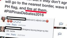 netizens lambasts ABS-CBN for erroneous caption