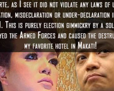 Netizen's sound explanation why Duterte is not guilty of SALN misdeclaration as alleged by Trillanes