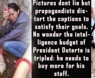 Journalist slams Peter Tiu Lavina for using fake photo