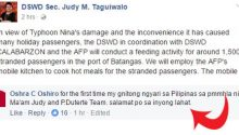netizens-praise-dswd-secretary-for-doing-this-to-stranded-passengers-in-batangas-port