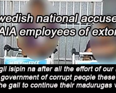 Swedish national accused 2 NAIA porters of extortion