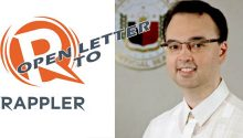 Cayetanos Open Letter to Rappler