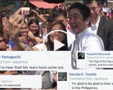 Japanese netizens thank FIlipinos