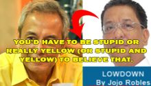 Jojo Robles versus Jim Paredes
