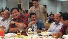 PNP Chief Bato shares light moment with Speaker Alvarez