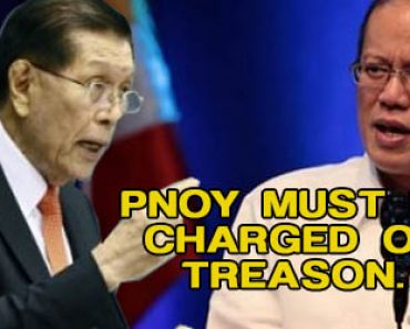 Pnoy must be charged of treason