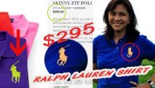 Ralph Lauren polo shirt price