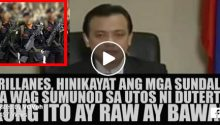 Trillanes video enciting sedition