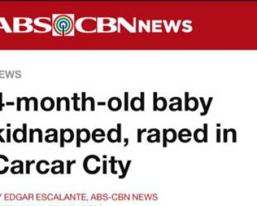 4-month old baby rape in Cebu
