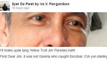 Jim Paredes got his a$$ whooped by Ira Panganiban