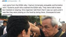Jim Paredes statement