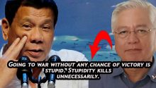 Alunan on going to war with China