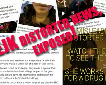 EJK distorted news exposed