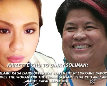 Open Letter to Dinky Soliman