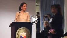 Risa Hontiveros in Sydney March 2017