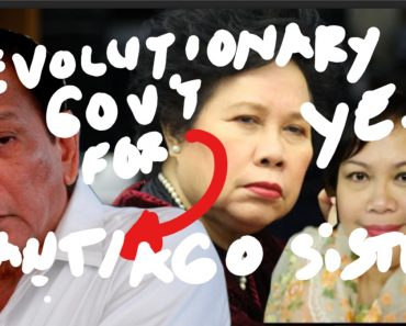 revolutionary government for Duterte
