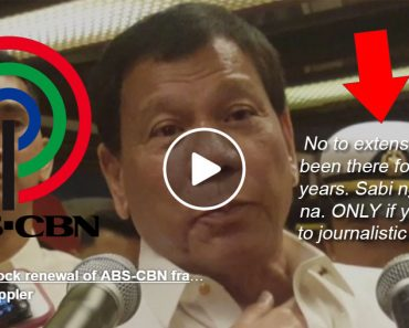 Duterte to block ABS-CBN franchise renewal in Congress