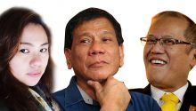 Duterte versus Pnoy on corruption