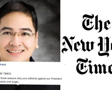Open Letter to New York Times