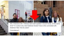 Robredo Trillanes spotted in South Korea