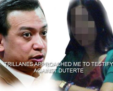 Woman exposed Trillanes attempt to bribe her to testify against Duterte