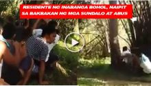 video of gunbattle between government soldiers and Abus in Bohol