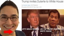 Atty Bruce Rivera on Dutertes White House invitation