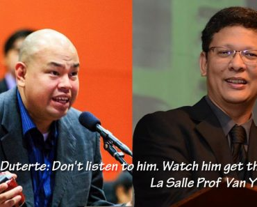La Salle Prof defends Duterte amidst latest r@pe scandal