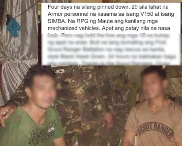 Scout Rangers heroic rescue of trapped soldiers in Marawi